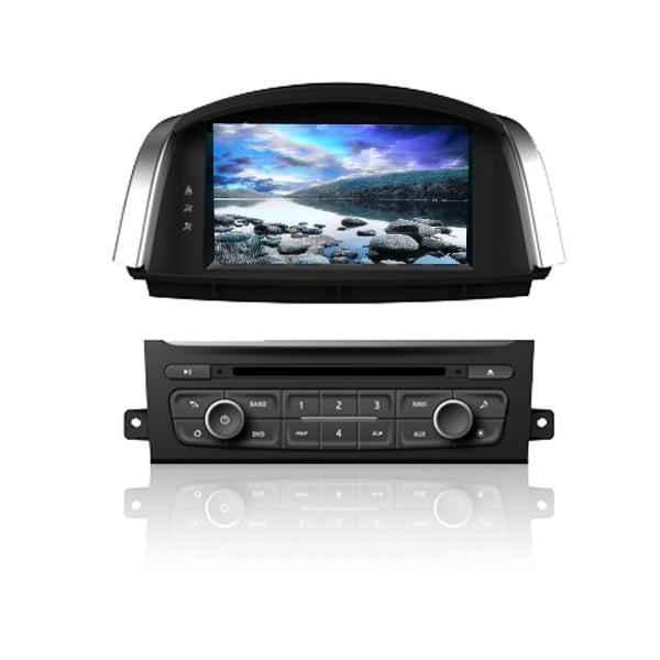 In car audio car radio stereo Android Car Navigation system for  Koleos