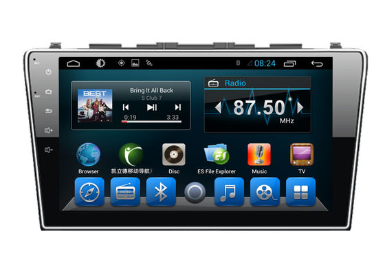 चीन 2 Din Auto Video Audio System Android Car GPS Navigation Honda CRV 2012 FM Radio आपूर्तिकर्ता