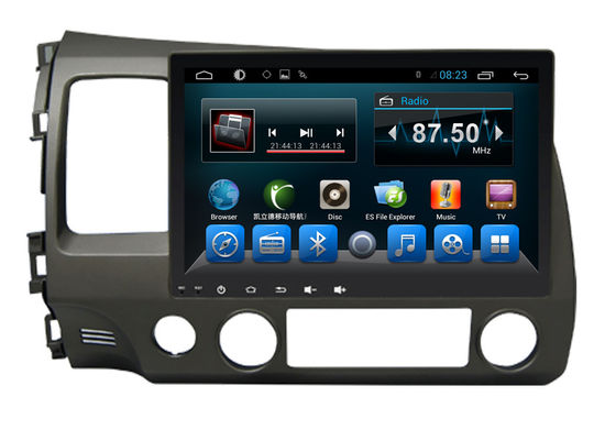 चीन Double Din Radio Car PC Bluetooth Dvd Player Civic 2006-2011 Big Screen आपूर्तिकर्ता
