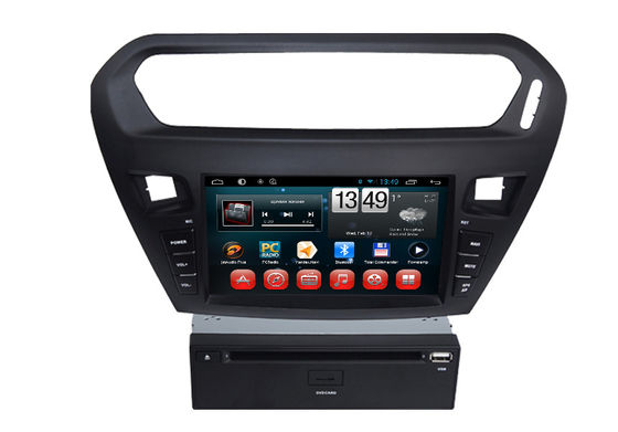 चीन Quad core PEUGEOT Navigation System With 8.0 Inch Touch Screen / Auto Rear Viewing आपूर्तिकर्ता