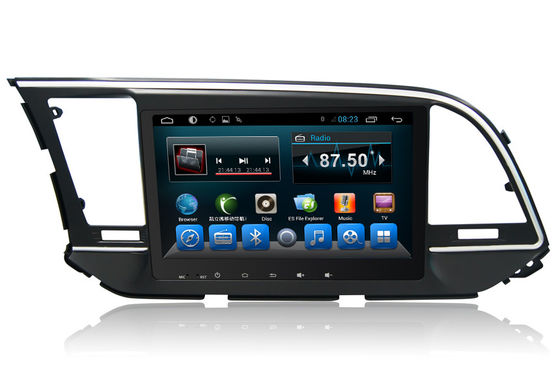 चीन Hyundai Elantra 2016 DVD Player Car Multimedia Player With Radio आपूर्तिकर्ता