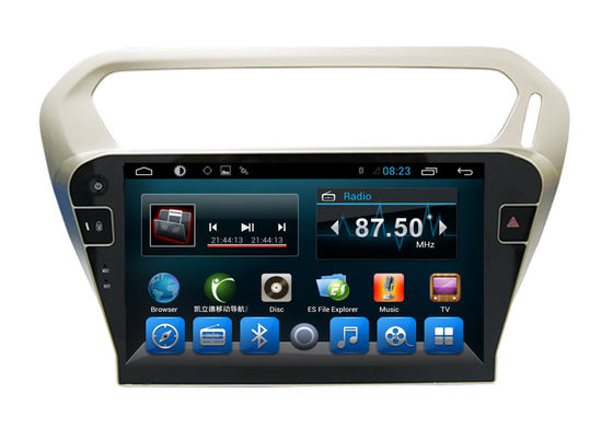 Car DVD Multimedia Player PEUGEOT Navigation System for 301Citroen Elysee