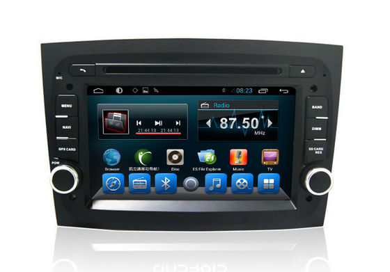 चीन In Dash Car Radio 2 Din Fiat Navigation System Doblo 2016 OBD Bluetooth WIFI SD आपूर्तिकर्ता