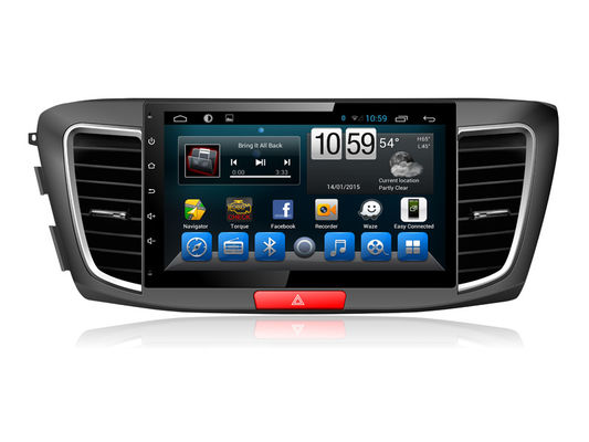 चीन Honda Accord 2015 2016  car multimedia gps navigation System Android quad core DVD आपूर्तिकर्ता