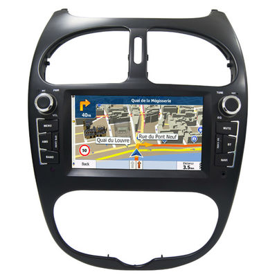 चीन Peugeot 206 GPS Navigation Car Multimedia DVD Player With Android / Windows System आपूर्तिकर्ता