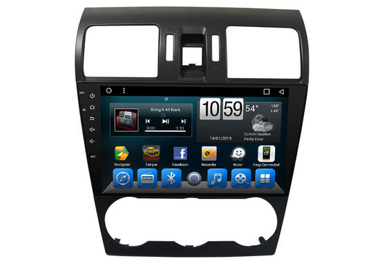 चीन Subaru Car Radio Double Din Android Car Navigation for Subaru Forester 2013 2014 आपूर्तिकर्ता