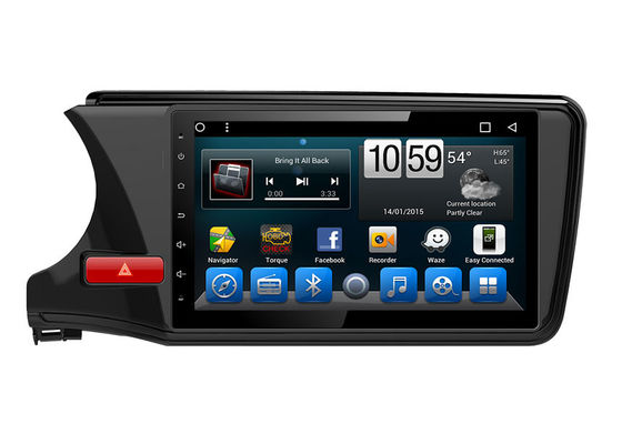 चीन Honda City 2015 Car GPS Navigator In Dash Multimedia Radio Receivers आपूर्तिकर्ता