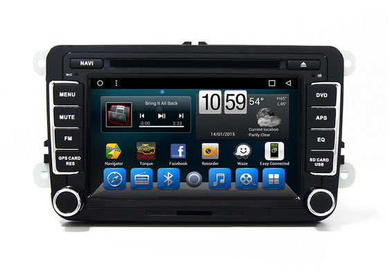 Magotan Dvd Player Automotive VOLKSWAGEN GPS Navigation System Bluetooth TV