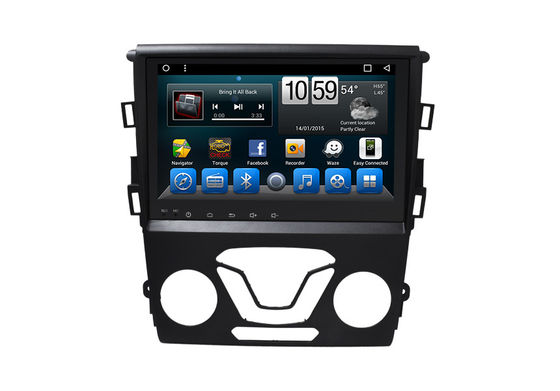 Mirror Link Double Din Stereo With Navigation , Touch Screen Navigation Mondeo 2013-