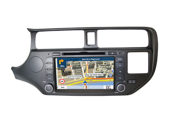 Indash Infotainment System Kia Audio DVD Player RIO K3 2011-2015 4 जी सिम कार्ड
