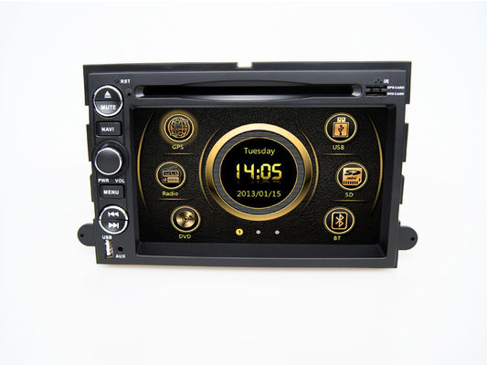 चीन FORD DVD Navigation System , 2din Car Stereo with Navigation Touchscreen for Ford Mustang Fusion आपूर्तिकर्ता