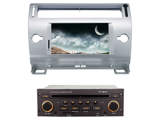 चीन 2 din car dvd player with bluetooth wifi gps citroen c4 old c-quatre c-triumph आपूर्तिकर्ता